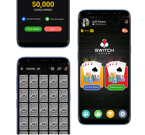 Switch poker game app